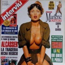 Coleccionismo de Revista Interviú: INTERVIÚ N 1143 MARLENE MOURREAU, CRÍMEN ALCÁSSER, EMMA BONINO, PSOE . Lote 177717217