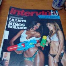 Coleccionismo de Revista Interviú: INTERVIU. 2042. JUNIO 2015. LA LISTA DE LOS NIÑOS ROBADOS, LIZ ORIANA. .. B11R. Lote 178198232