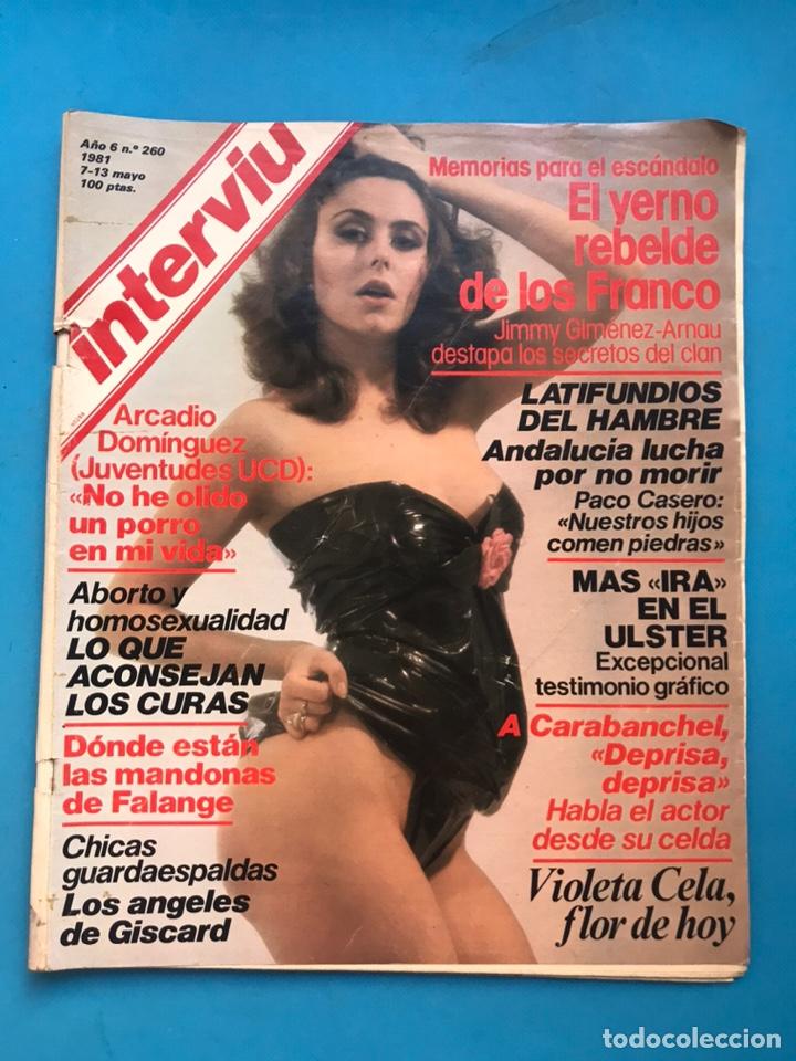 Coleccionismo de Revista Interviú: INTERVIU - 10 REVISTAS DIFERENTES AÑOS 80-90 - VER FOTOS ADICIONALES - Foto 4 - 179957200