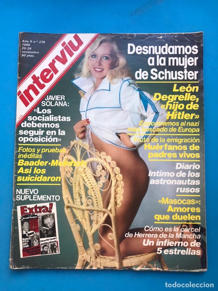 Coleccionismo de Revista Interviú: INTERVIU - 10 REVISTAS DIFERENTES AÑOS 80-90 - VER FOTOS ADICIONALES - Foto 5 - 179957200