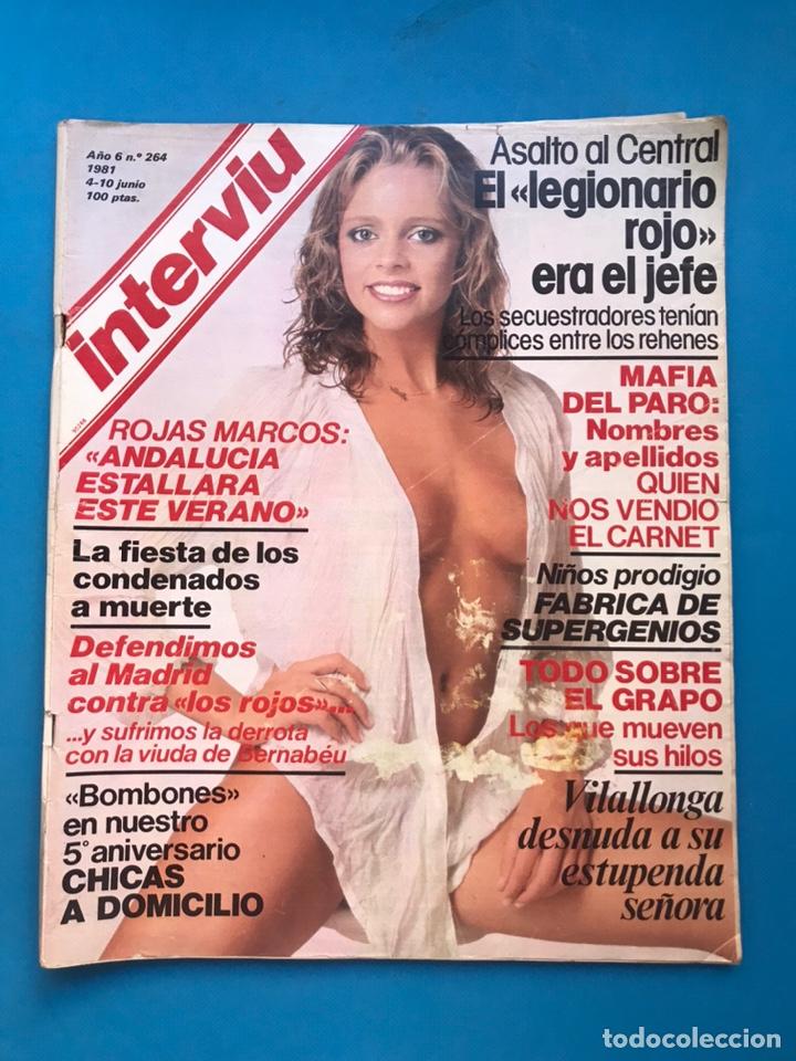 Coleccionismo de Revista Interviú: INTERVIU - 10 REVISTAS DIFERENTES AÑOS 80-90 - VER FOTOS ADICIONALES - Foto 8 - 179957200