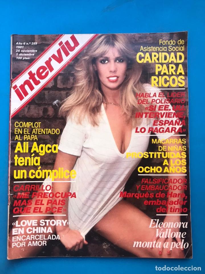 Coleccionismo de Revista Interviú: INTERVIU - 10 REVISTAS DIFERENTES AÑOS 80-90 - VER FOTOS ADICIONALES - Foto 9 - 179957200