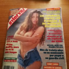 Coleccionismo de Revista Interviú: REVISTA INTERVIU 845. Lote 180458167