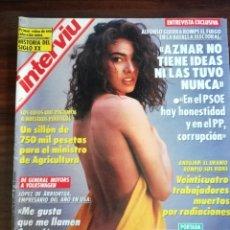 Coleccionismo de Revista Interviú: INTERVIÚ Nº 882. MARÍA ABRADELO (PORTADA). Lote 180471527