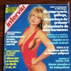 Coleccionismo de Revista Interviú: INTERVIU N° 687. CORINNE RUSSELL. Lote 181943228