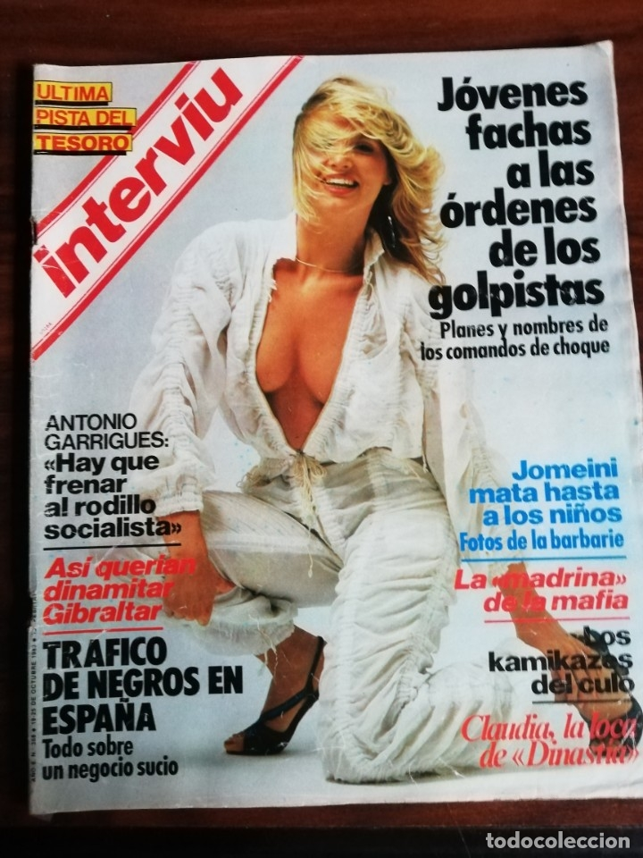 INTERVIU N° 388. CLAUDIA, DE DINASTÍA (Coleccionismo - Revistas y Periódicos Modernos (a partir de 1.940) - Revista Interviú)