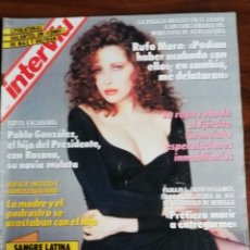 Coleccionismo de Revista Interviú: INTERVIU N° 725. FRANCESCA DELLERA Y BÁRBARA MAGNOLFI, DESNUDAS. Lote 181950251