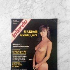Coleccionismo de Revista Interviú: INTERVIU - 1976 - MARISOL, ENRIQUE TIERNO GALVAN, JOAN MANUEL SERRAT. Lote 182169823