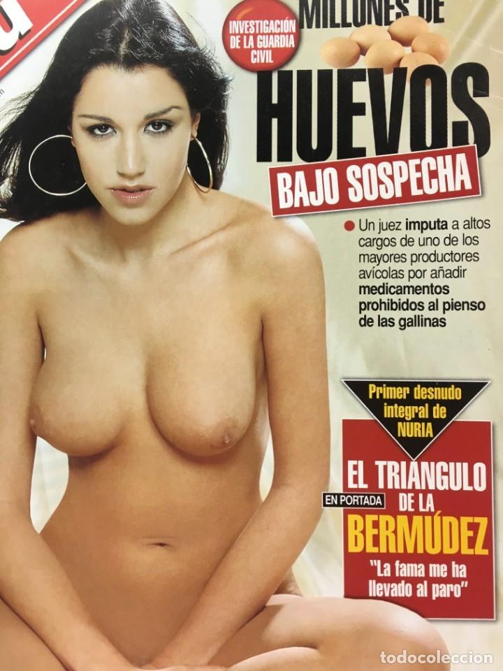 Coleccionismo de Revista Interviú: Revista Interviú número 1299 Nuria Bermudez año 2001 - Foto 2 - 182331627
