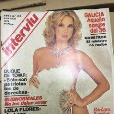 Coleccionismo de Revista Interviú: REVISTA INTERVIU #103 MAYO 1978 BARBARA BOUCHET. Lote 182942816