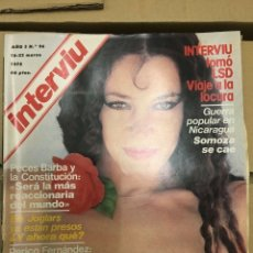 Coleccionismo de Revista Interviú: REVISTA INTERVIU #96 MARZO 1978 ANITA ARWICH BARBARA BOUCHET. Lote 182944950