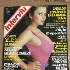 Coleccionismo de Revista Interviú: REVISTA INTERVIU JUNIO 1981 # 267 SALLY BARBARA BOUCHET. Lote 183009886
