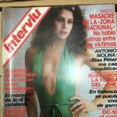 Coleccionismo de Revista Interviú: REVISTA INTERVIU JUNIO 1979 # 160 NATALIA AURELIA. Lote 183019145