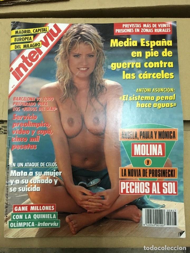 REVISTA INTERVIU JANE BOTHAM # 847 JULIO 1992 (Coleccionismo - Revistas y Periódicos Modernos (a partir de 1.940) - Revista Interviú)