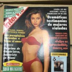Coleccionismo de Revista Interviú: REVISTA INTERVIU SOFIA MAZAGATOS # 850 AGOSTO 1992. Lote 183068218