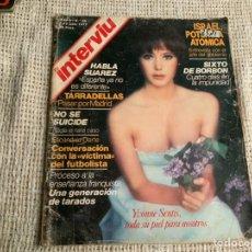 Coleccionismo de Revista Interviú: INTERVIU Nº 60 YVONNE SENTIS, SITA SADAFI. Lote 183311536