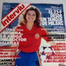 Coleccionismo de Revista Interviú: REVISTA INTERVIU N 305 17-23 MARZO 1982. Lote 184020922