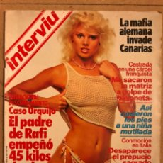 Colecionismo da Revista Interviú: INTERVIU N° 403 (FEBRERO 1984). MARIEL HEMINGWAY, CASO URQUIJO, MAFIA ALEMANA EN CANARIAS,.... Lote 184493946