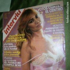 Coleccionismo de Revista Interviú: INTERVIU Nº 148 AÑO 1979 EVA ROBIN GATA Y LUDICA.. Lote 184613020