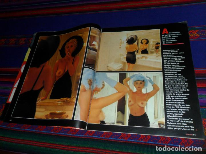 Coleccionismo de Revista Interviú: INTERVIÚ Nº 788. 6-6-91. MARTA SÁNCHEZ TOTALMENTE DESNUDA. DIFÍCIL. - Foto 5 - 185954197