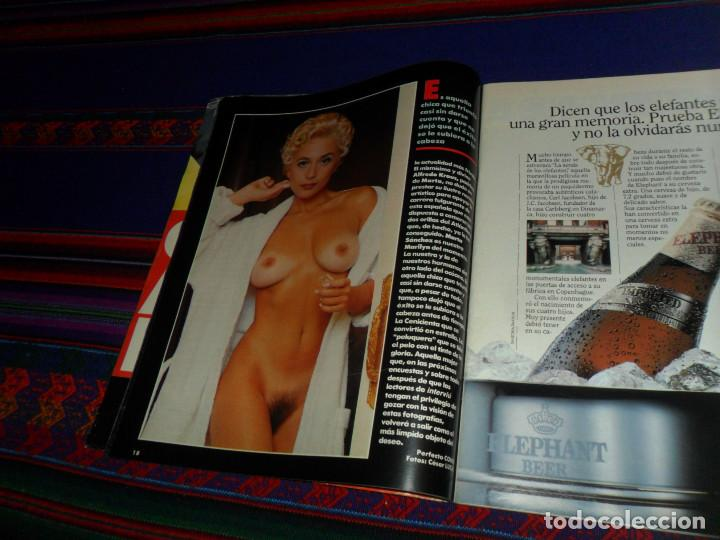 Coleccionismo de Revista Interviú: INTERVIÚ Nº 788. 6-6-91. MARTA SÁNCHEZ TOTALMENTE DESNUDA. DIFÍCIL. - Foto 9 - 185954197