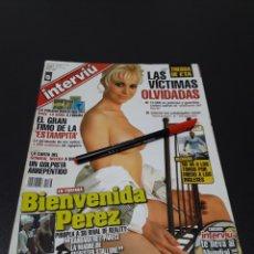 Coleccionismo de Revista Interviú: INTERVIÚ N° 1.568. 2006. BIENVENIDA PÉREZ.. Lote 185984455