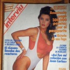 Coleccionismo de Revista Interviú: REVISTA INTERVIU - AÑO 9 Nº 612 - FEBRERO 1988 - SABRINA SALERMO. Lote 186038360