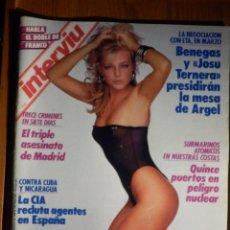Coleccionismo de Revista Interviú: REVISTA INTERVIU - AÑO 9 Nº 613 - FEBRERO 1988 -. Lote 186038683