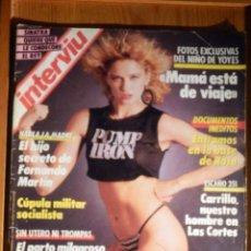 Coleccionismo de Revista Interviú: REVISTA INTERVIU SEPTIEMBRE 1986 Nº 541 FRANK SINATRA, NINA HAGEN. Lote 186039357