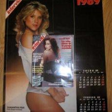 Coleccionismo de Revista Interviú: REVISTA INTERVIU Nº 660 AÑO 1989. PORTADA: FRANCESCA DELLERA. SAMANTHA FOX Y DAUTA LATO POSTERS. Lote 186111558