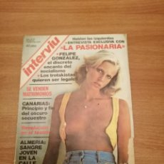 Coleccionismo de Revista Interviú: REVISTA INTRVIU Nº -15 DEL 26 DE AGOSTO AL 1 DE SEPTIEMBRE 1976. Lote 186197872