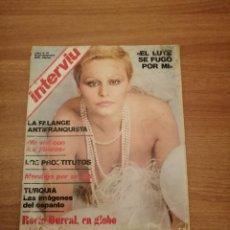 Coleccionismo de Revista Interviú: REVISTA INTRVIU Nº -31 DE 16-22 DE DICIEMBRE DE 1976. Lote 186197937