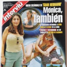 Collectionnisme de Magazine Interviú: REVISTA INTERVIU Nº 1258 MÓNICA RUIZ GRAN HERMANO SHANGAY LILY ANTHONY BLAKE NURIA BERMÚDEZ EUROCOPA. Lote 186418057
