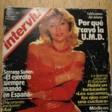 Coleccionismo de Revista Interviú: INTERVIU N° 360. XUXA. ASESINATO GANDHI. SERRANO SÚÑER. Lote 187182618