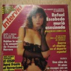 Coleccionismo de Revista Interviú: INTERVIU N° 649. MICHELLE BAUER (PORTADA). FERNANDO MARTÍN. SARAH FERGUSON. Lote 187215455