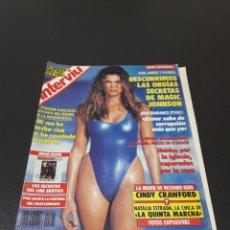 Coleccionismo de Revista Interviú: INTERVIÚ N° 621. 1992. NATALIA ESTRADA, CINDY CRAWFORD.. Lote 187321348