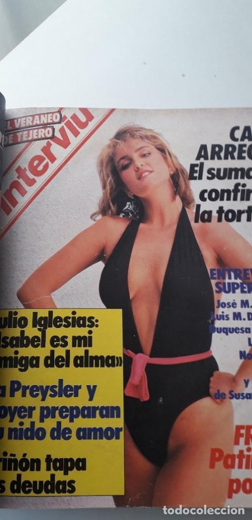 Coleccionismo de Revista Interviú: REVISTA INTERVIU 1985, 13 NÚMEROS: 478, 479, 480, 481, 482, 483, 484, 485, 486, 487, 488, 489, 490 - Foto 6 - 188731798
