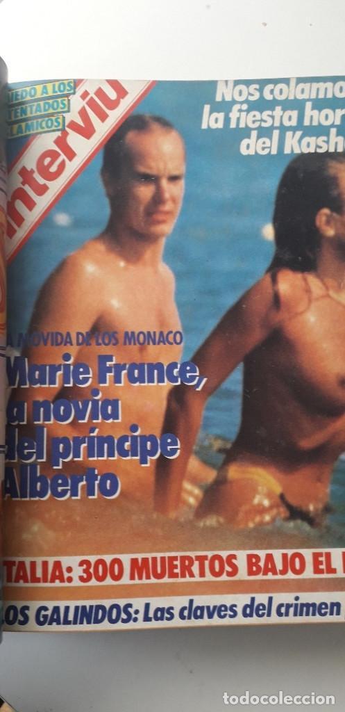 Coleccionismo de Revista Interviú: REVISTA INTERVIU 1985, 13 NÚMEROS: 478, 479, 480, 481, 482, 483, 484, 485, 486, 487, 488, 489, 490 - Foto 7 - 188731798