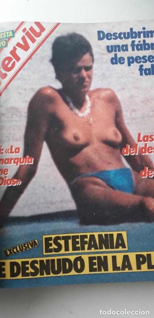 Coleccionismo de Revista Interviú: REVISTA INTERVIU 1985, 13 NÚMEROS: 478, 479, 480, 481, 482, 483, 484, 485, 486, 487, 488, 489, 490 - Foto 11 - 188731798