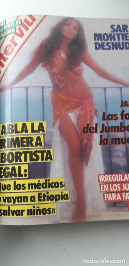 Coleccionismo de Revista Interviú: REVISTA INTERVIU 1985, 13 NÚMEROS: 478, 479, 480, 481, 482, 483, 484, 485, 486, 487, 488, 489, 490 - Foto 13 - 188731798