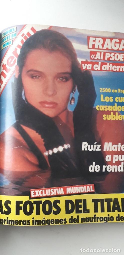 Coleccionismo de Revista Interviú: REVISTA INTERVIU 1985, 13 NÚMEROS: 478, 479, 480, 481, 482, 483, 484, 485, 486, 487, 488, 489, 490 - Foto 17 - 188731798