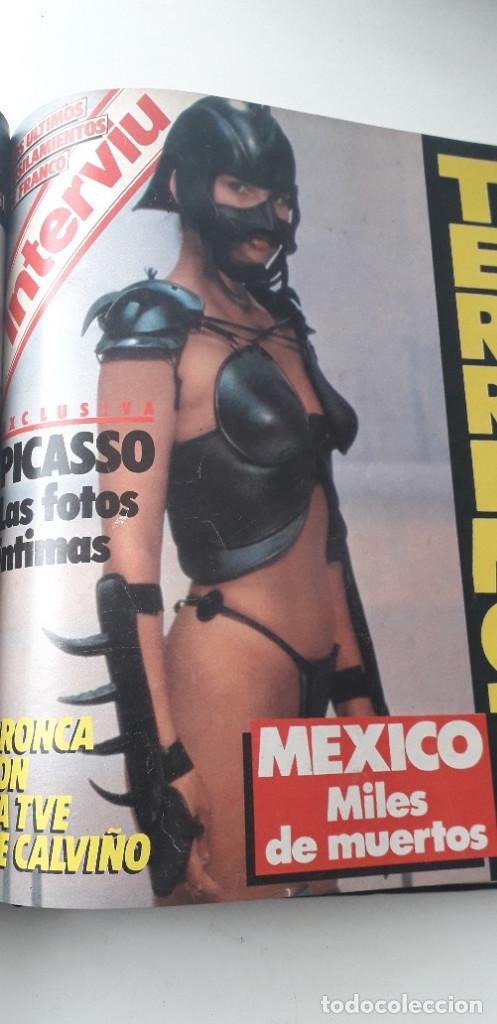 Coleccionismo de Revista Interviú: REVISTA INTERVIU 1985, 13 NÚMEROS: 478, 479, 480, 481, 482, 483, 484, 485, 486, 487, 488, 489, 490 - Foto 19 - 188731798