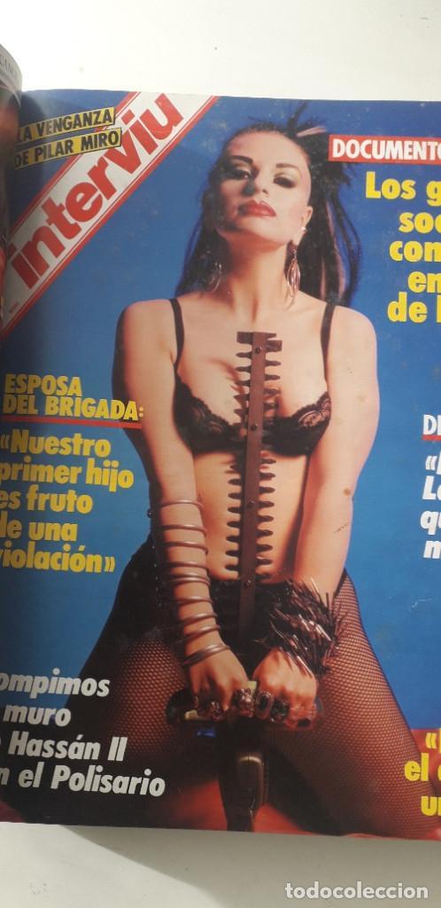 Coleccionismo de Revista Interviú: REVISTA INTERVIU 1986, 12 NÚMEROS: 544, 545, 546, 547, 548, 549, 550, 551, 552, 553, 554, 555 - Foto 7 - 188785246