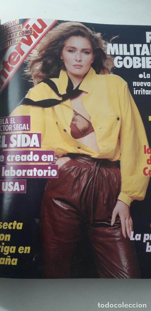 Coleccionismo de Revista Interviú: REVISTA INTERVIU 1986, 12 NÚMEROS: 544, 545, 546, 547, 548, 549, 550, 551, 552, 553, 554, 555 - Foto 9 - 188785246