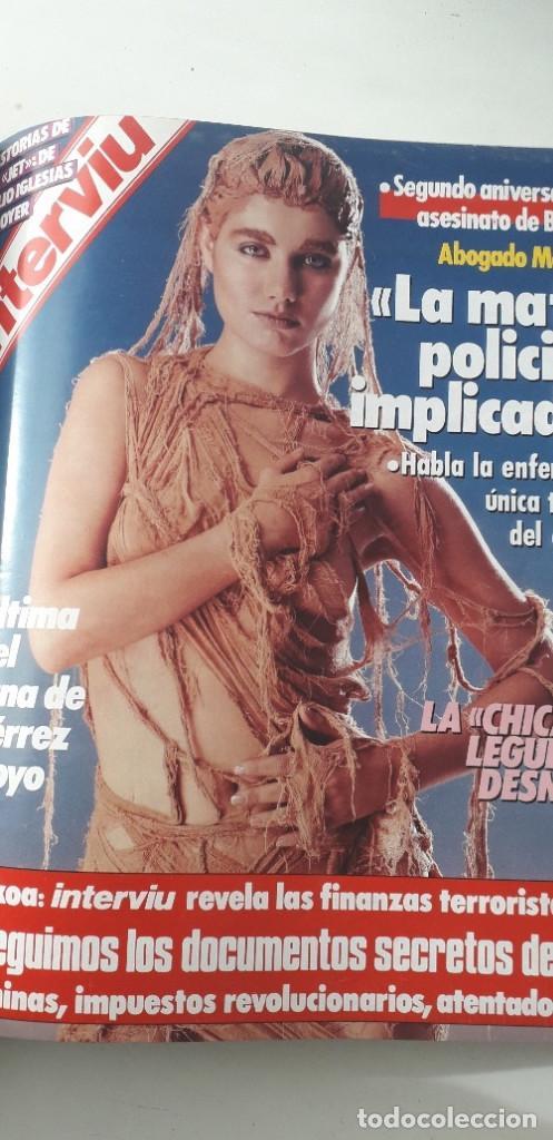 Coleccionismo de Revista Interviú: REVISTA INTERVIU 1986, 12 NÚMEROS: 544, 545, 546, 547, 548, 549, 550, 551, 552, 553, 554, 555 - Foto 10 - 188785246