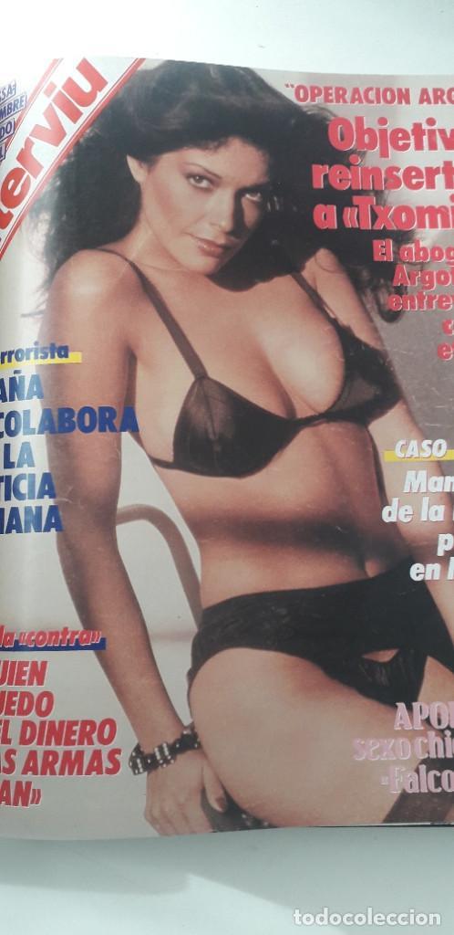 Coleccionismo de Revista Interviú: REVISTA INTERVIU 1986, 12 NÚMEROS: 544, 545, 546, 547, 548, 549, 550, 551, 552, 553, 554, 555 - Foto 13 - 188785246