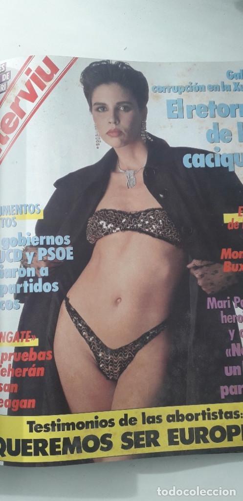 Coleccionismo de Revista Interviú: REVISTA INTERVIU 1986, 12 NÚMEROS: 544, 545, 546, 547, 548, 549, 550, 551, 552, 553, 554, 555 - Foto 15 - 188785246