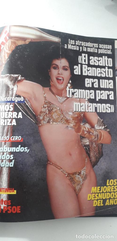 Coleccionismo de Revista Interviú: REVISTA INTERVIU 1986, 12 NÚMEROS: 544, 545, 546, 547, 548, 549, 550, 551, 552, 553, 554, 555 - Foto 17 - 188785246