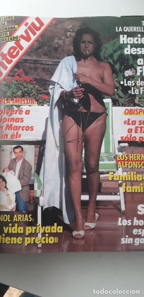 Coleccionismo de Revista Interviú: REVISTA INTERVIU 1987, 13 NÚMEROS: 568, 569, 570, 571, 572, 573, 574, 575, 576, 577, 578, 579, 580 - Foto 3 - 188790122