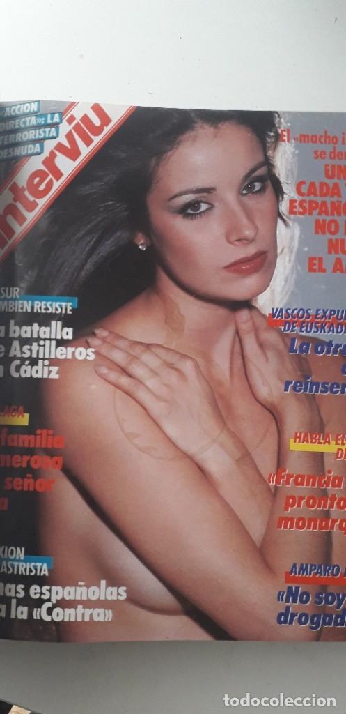 Coleccionismo de Revista Interviú: REVISTA INTERVIU 1987, 13 NÚMEROS: 568, 569, 570, 571, 572, 573, 574, 575, 576, 577, 578, 579, 580 - Foto 6 - 188790122